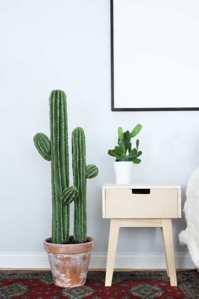 fake cactus DIY