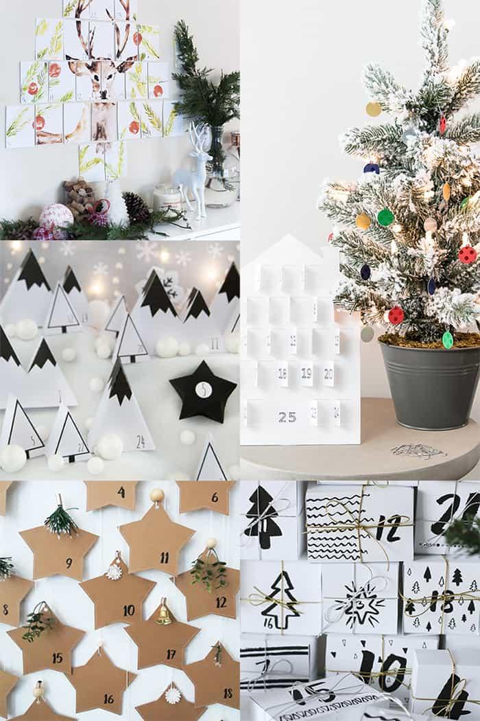 free printable advent calendar