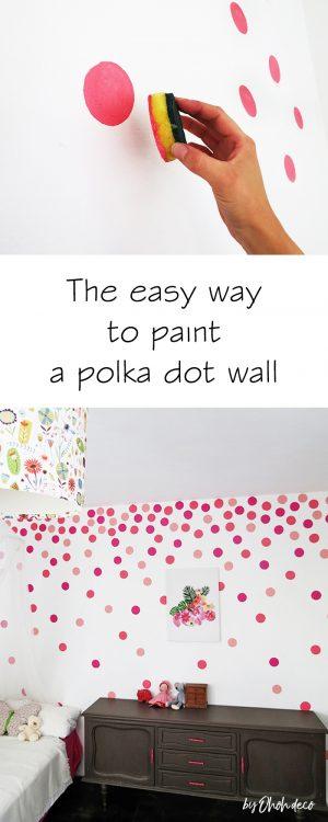 polka dot wall