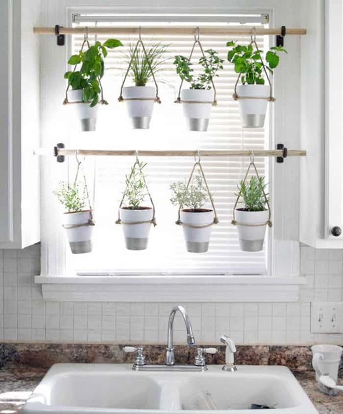 window hanging herb palnter