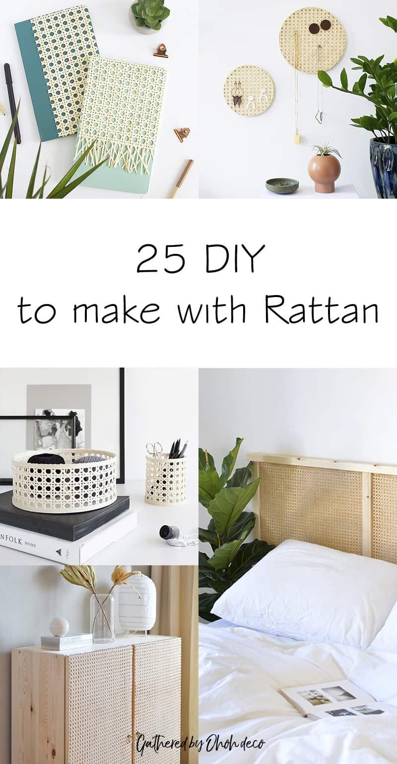 Rattan DIY ideas