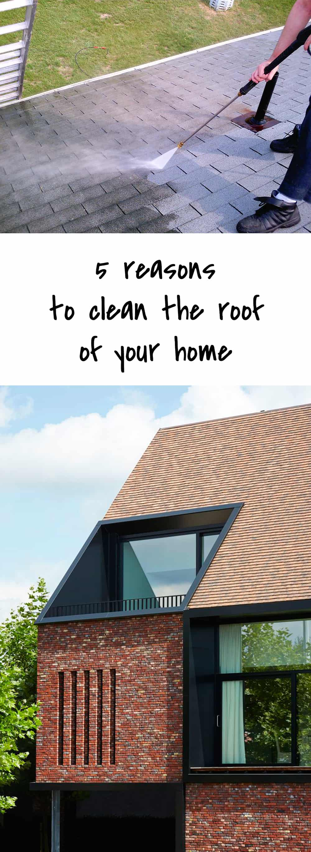 5 reasons to clean the roof of your home ohoh blog - Reasons get roof cleaned ...