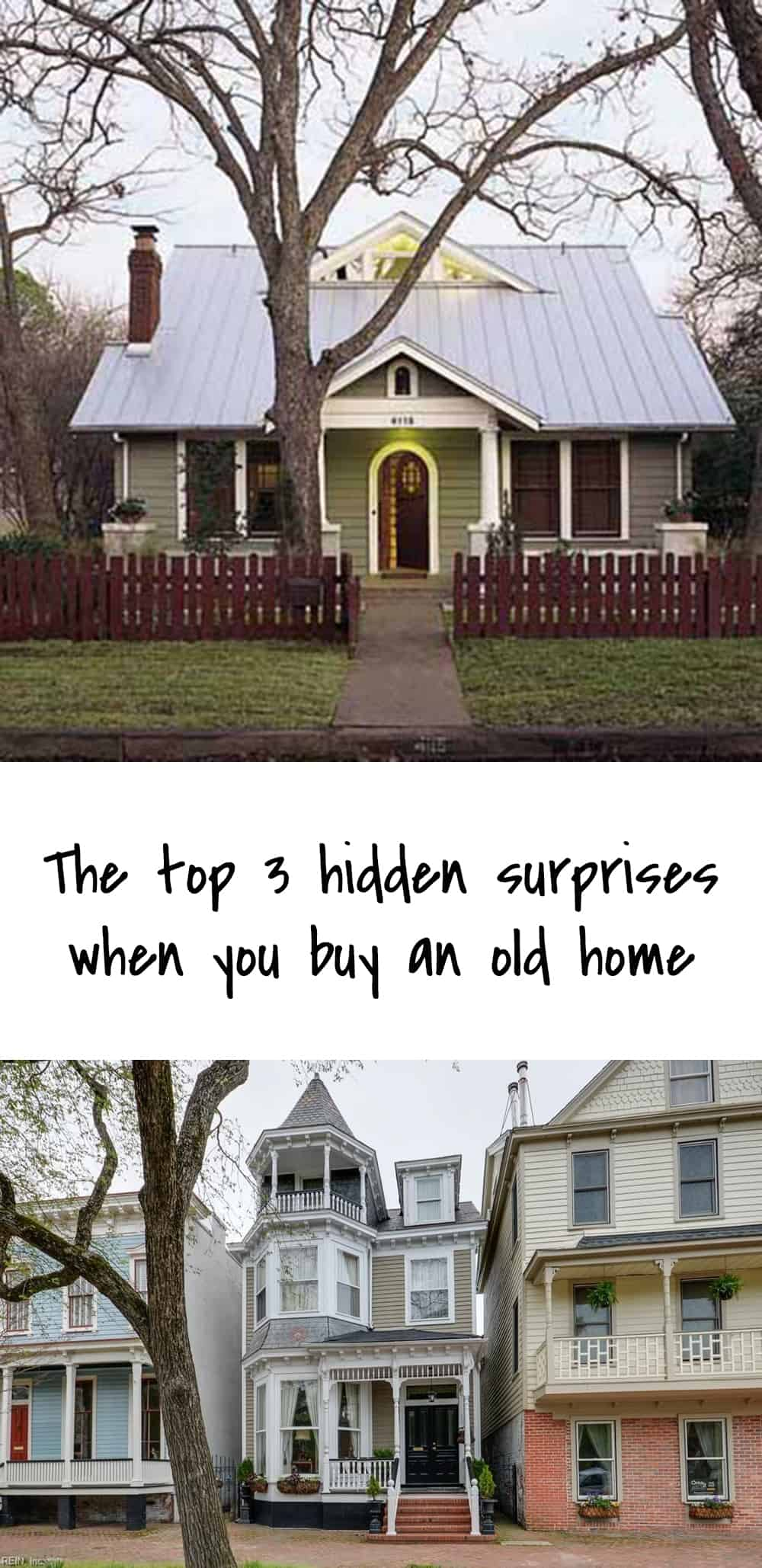 The top 3 hidden surprises when you buy an old home ohoh for Buying an old house