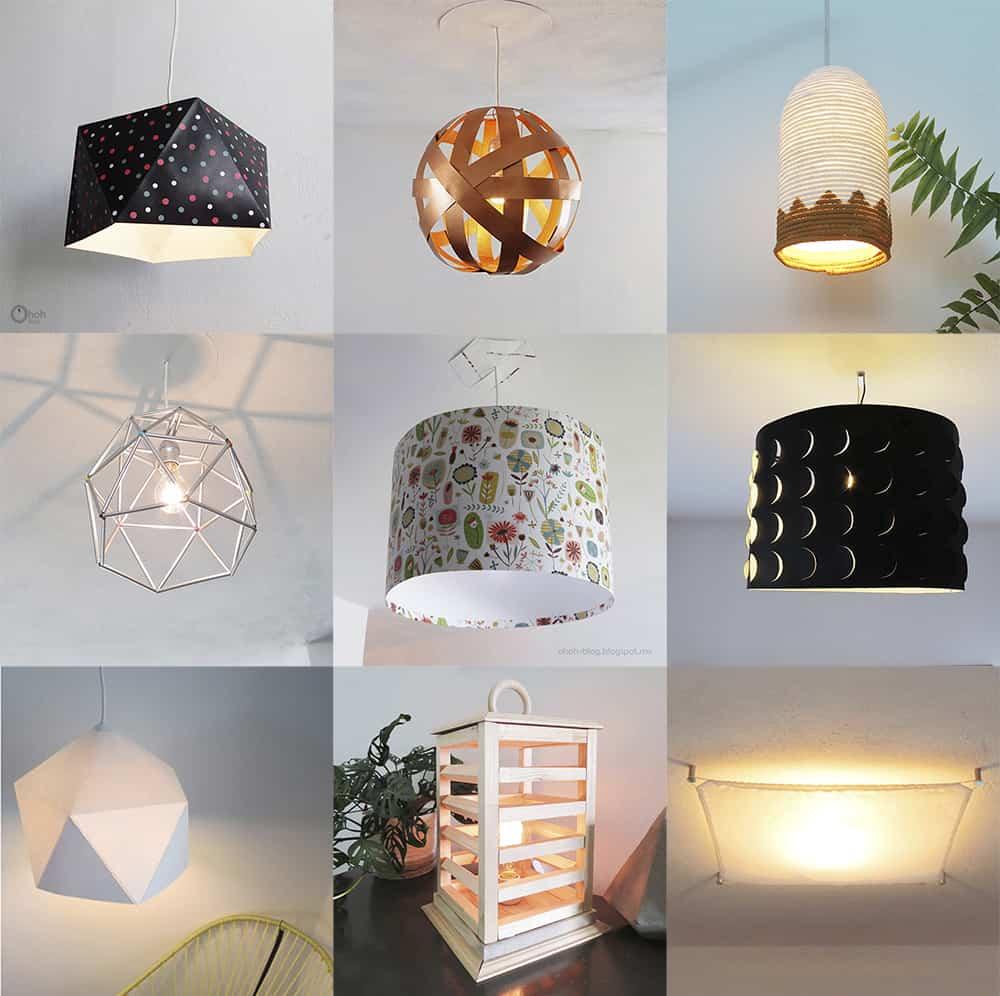 18 ways to make a DIY lighting