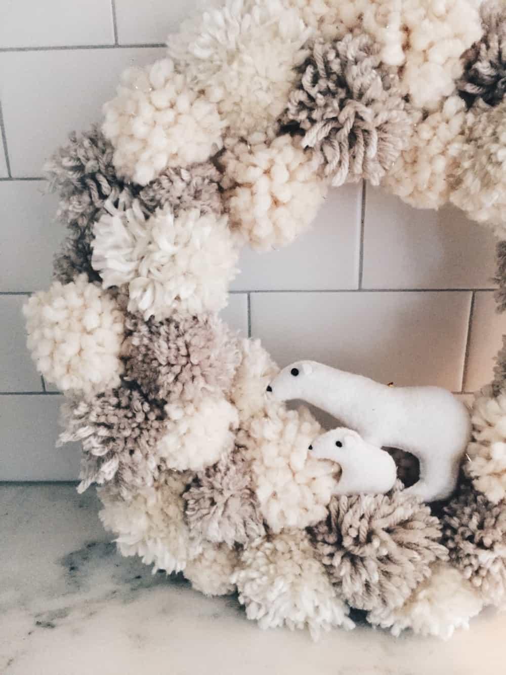 DIY Natural hygge Christmas decor