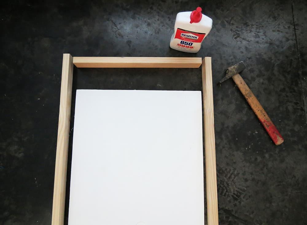assembling divider frame