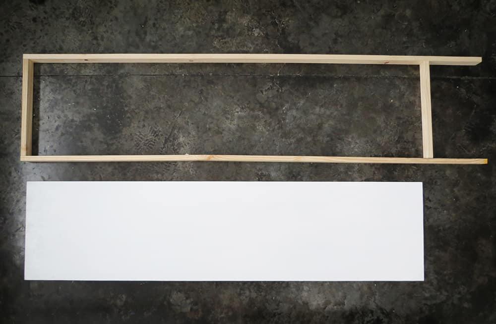 building room divider frame