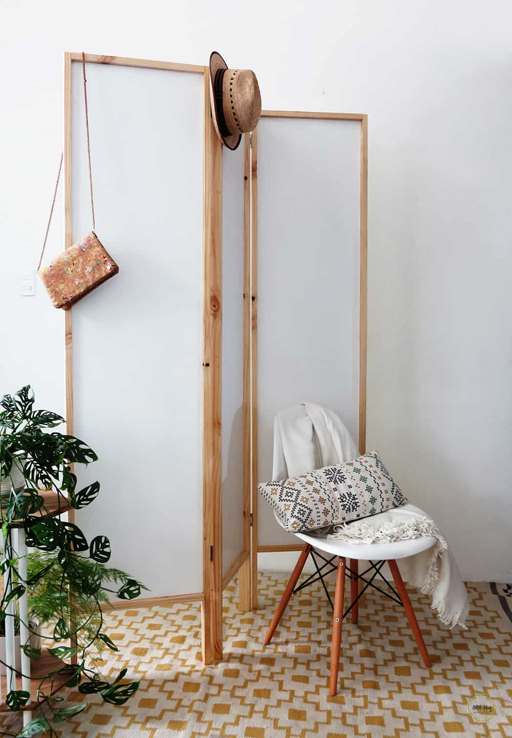 easy to build room divider