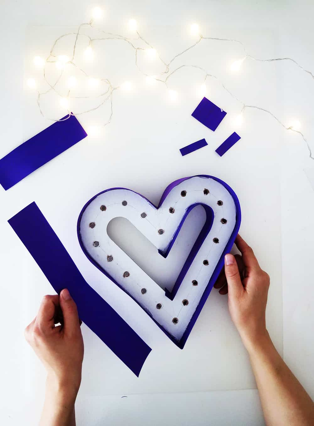 make a marquee sign