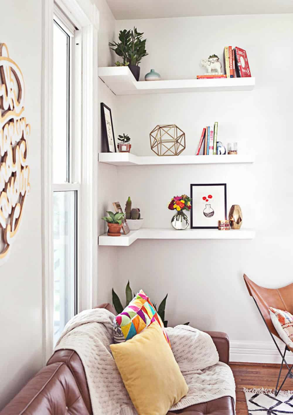 DIY Floating Shelves Can Transform A Room