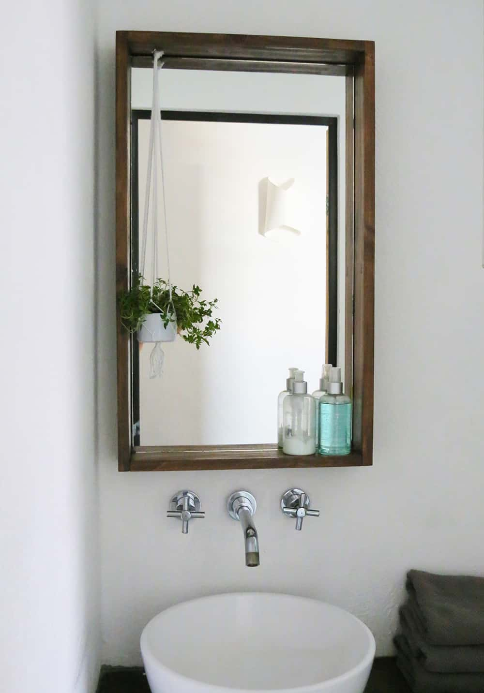 DIY box frame mirror - Ohoh Blog