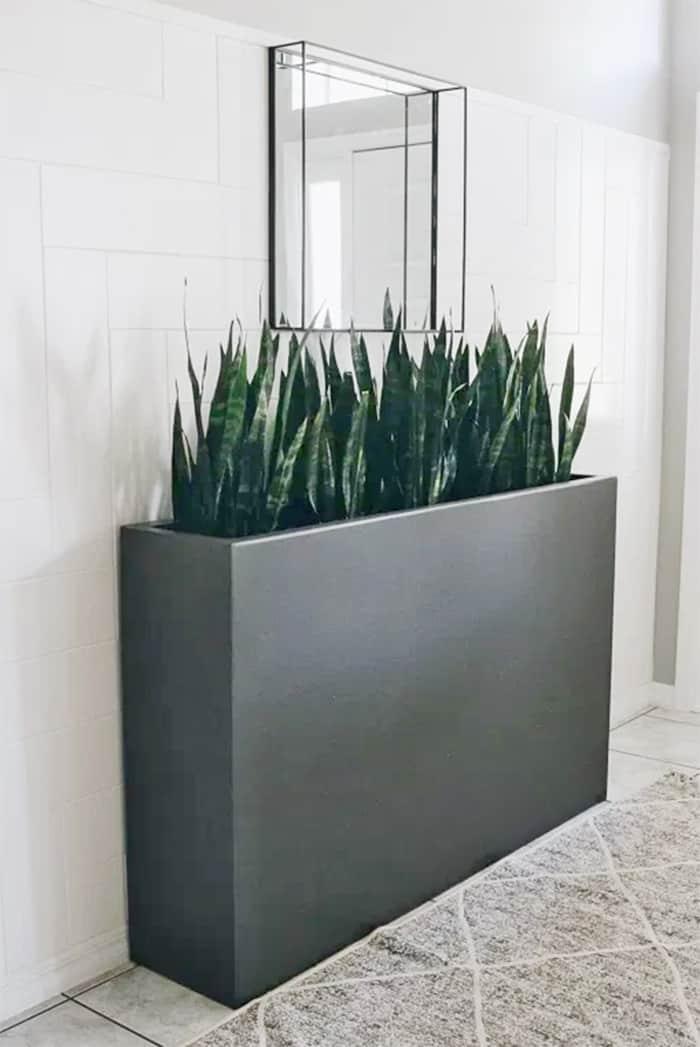 diy tall large planter box