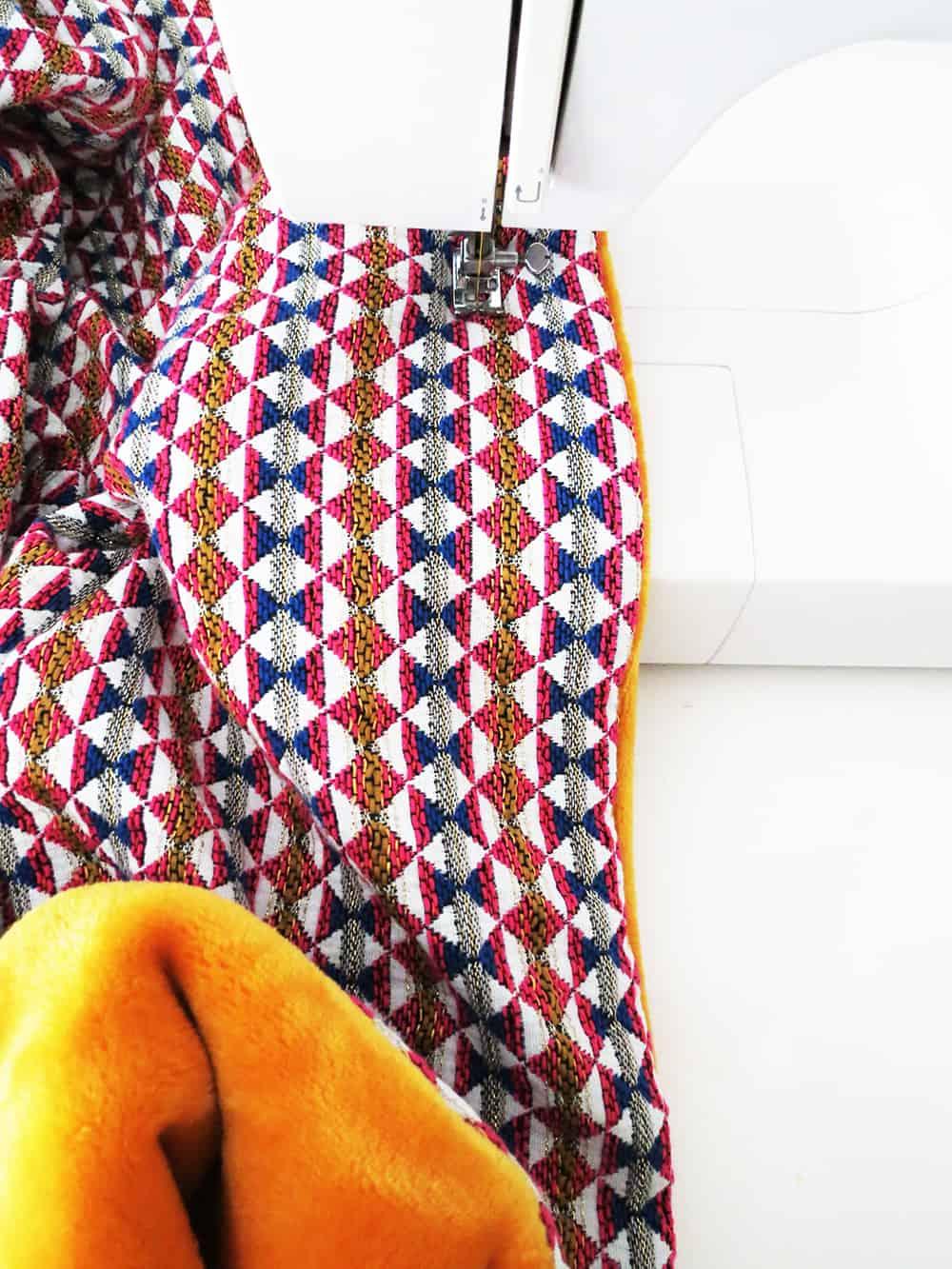 stitching blanket