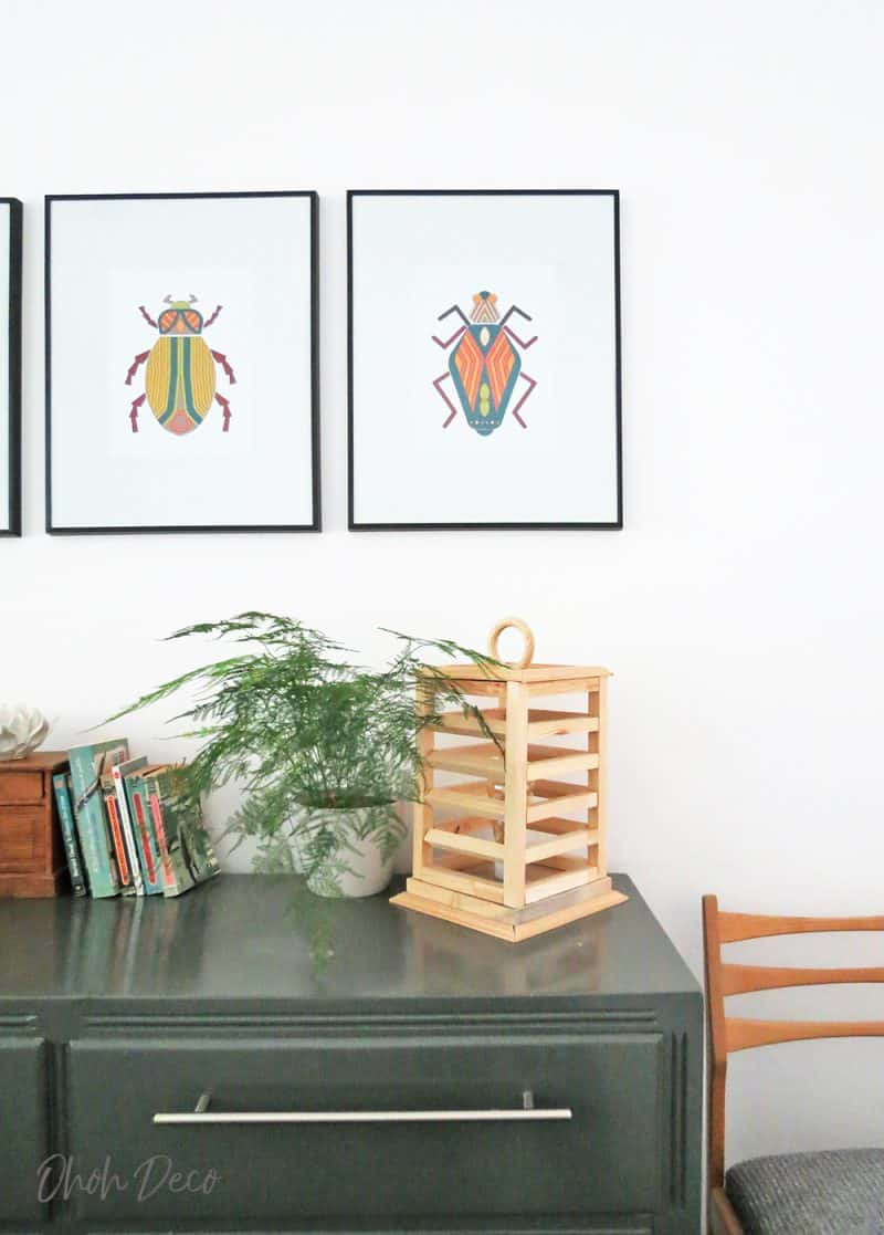 Grab these bugs wall art prints