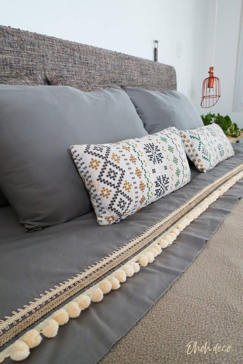 How to easily customize bed sheets