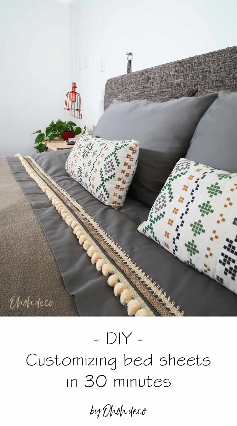 diy customized bed sheets