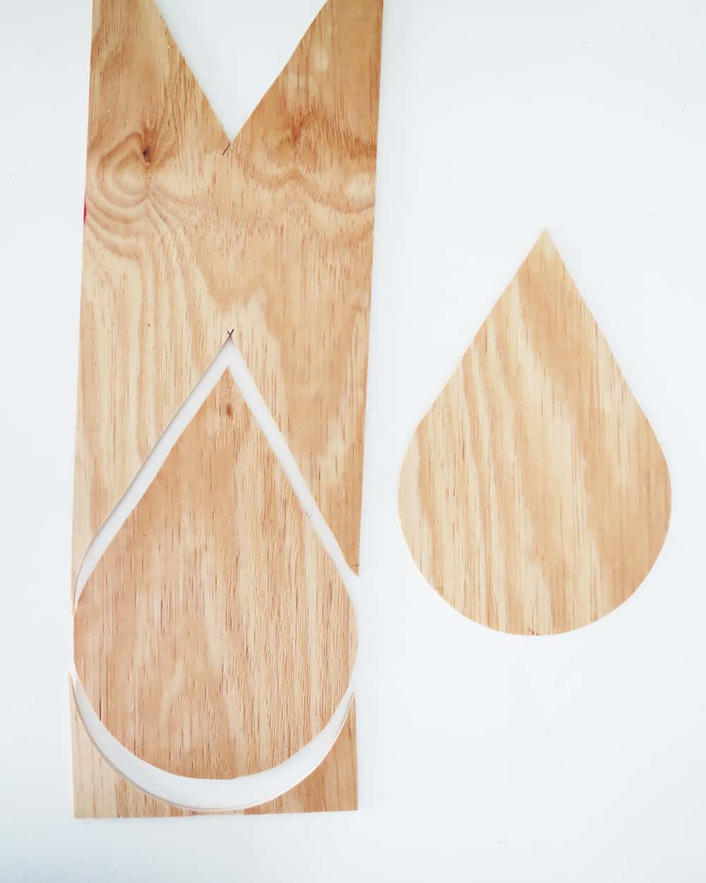 cutting drop shape