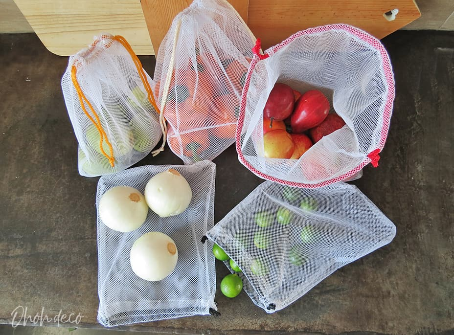How to sew reusable fabric bags