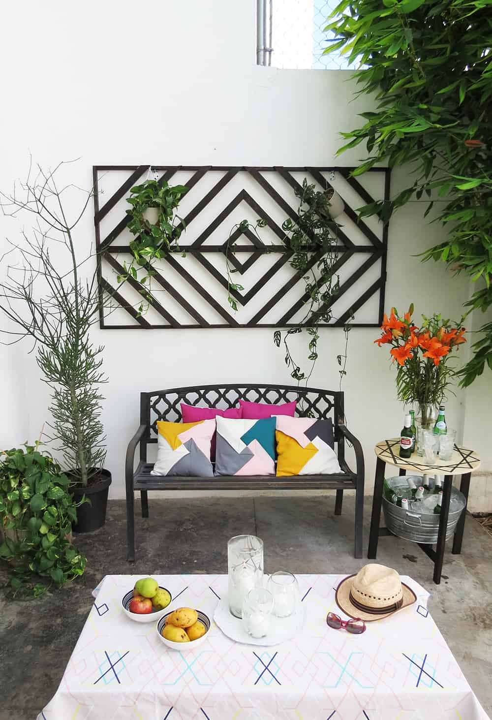 DIY patio upgrade