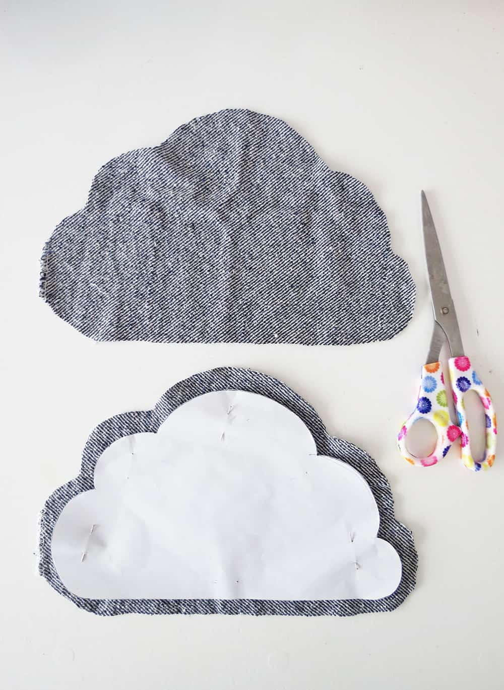 cloud pot holder free sewing pattern