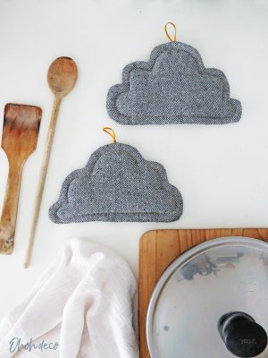 sewing tutorial cloud pot holder
