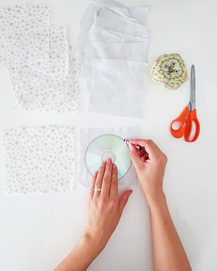 fabric to sew reusable makeup remover pads