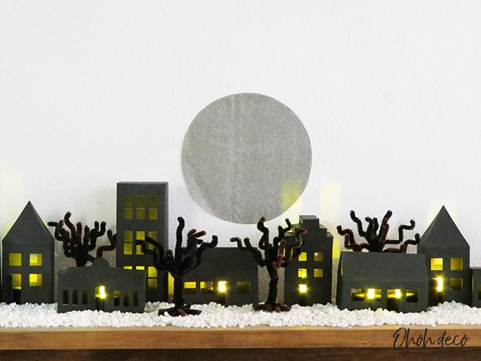 DIY paper house craft