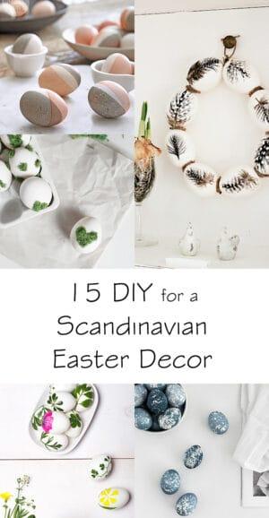 diy ideas scandinavian easter