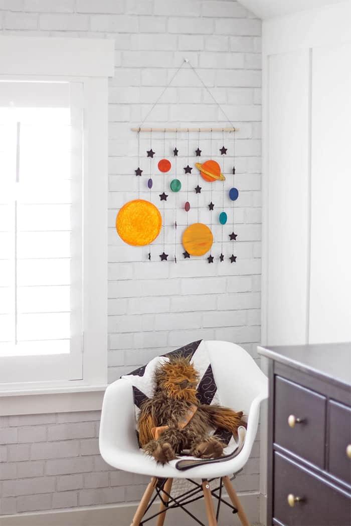 space stars wall decor