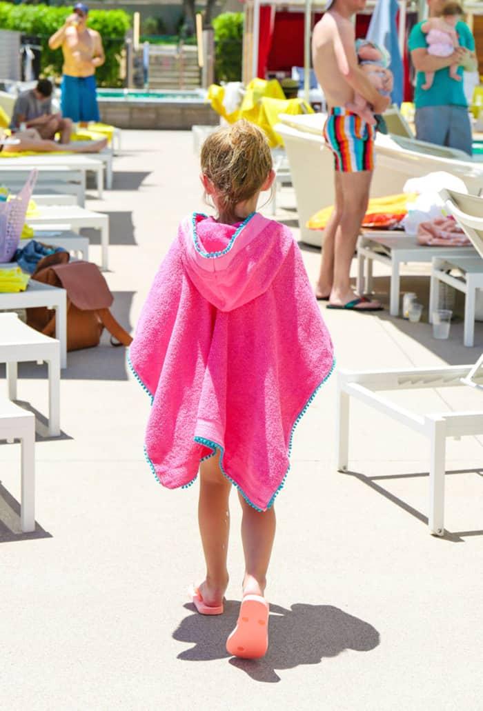 beach towel for kids sewing tutorial