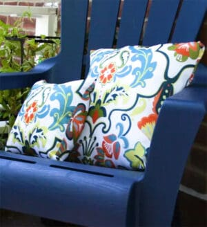how to make outdoor waterproof cushion