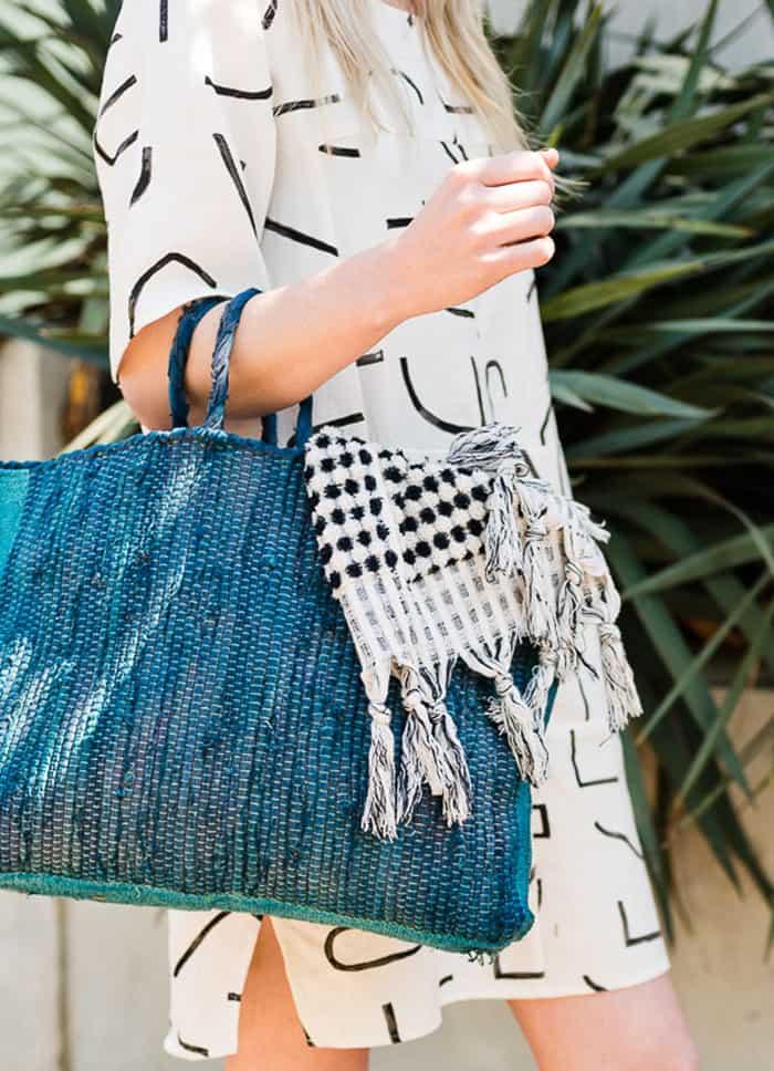 make a tote bag with rugrag