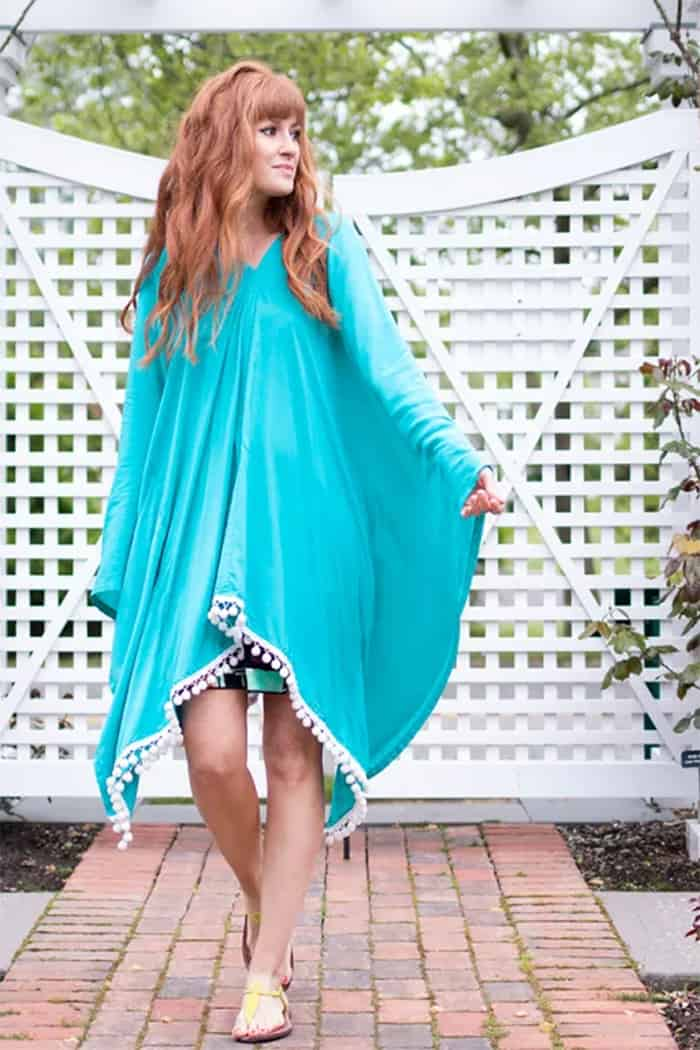 Easy to sew cftan dress