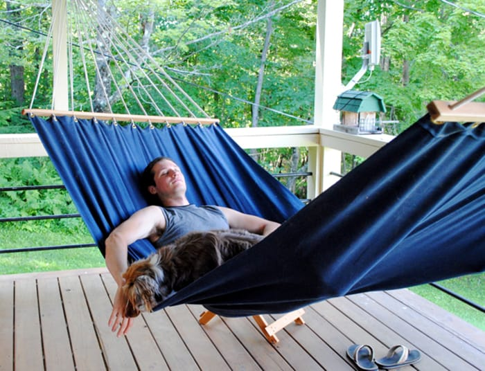 how to sew a hammock