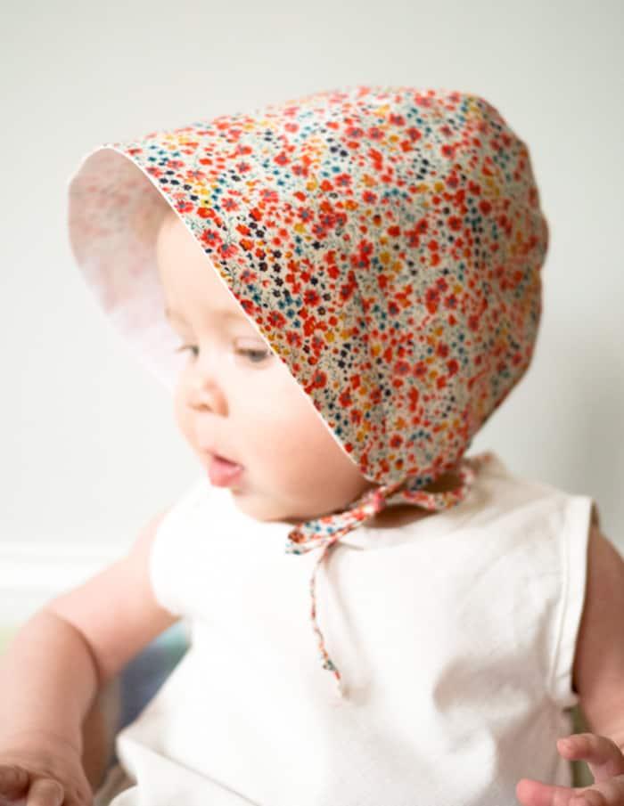 baby sun hat free pattern