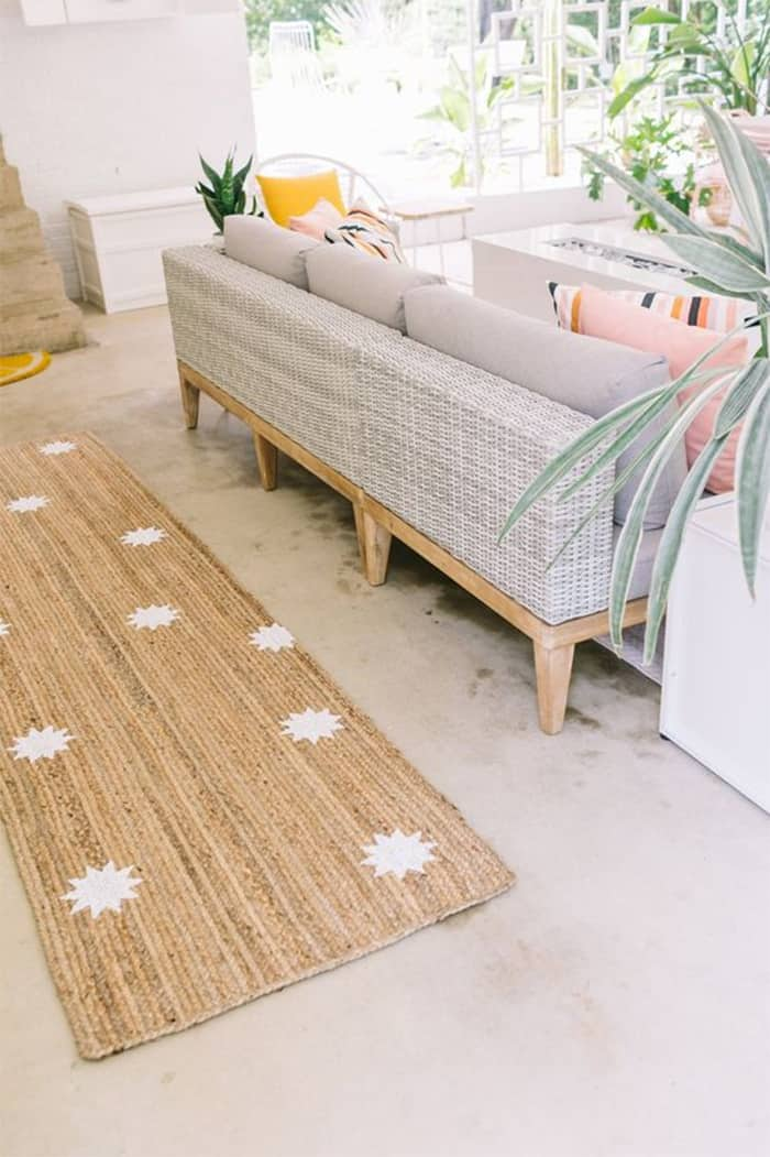 diy customized outdoor rug