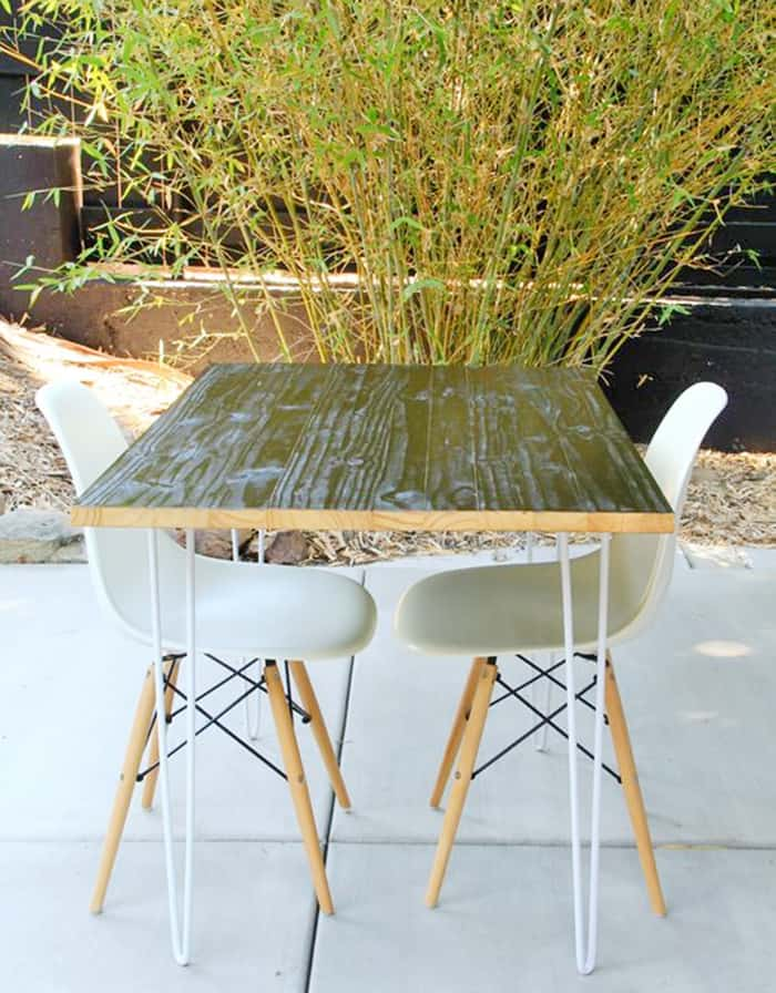 diy outdoor table