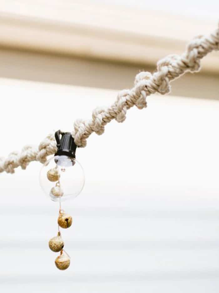 diy rope string light