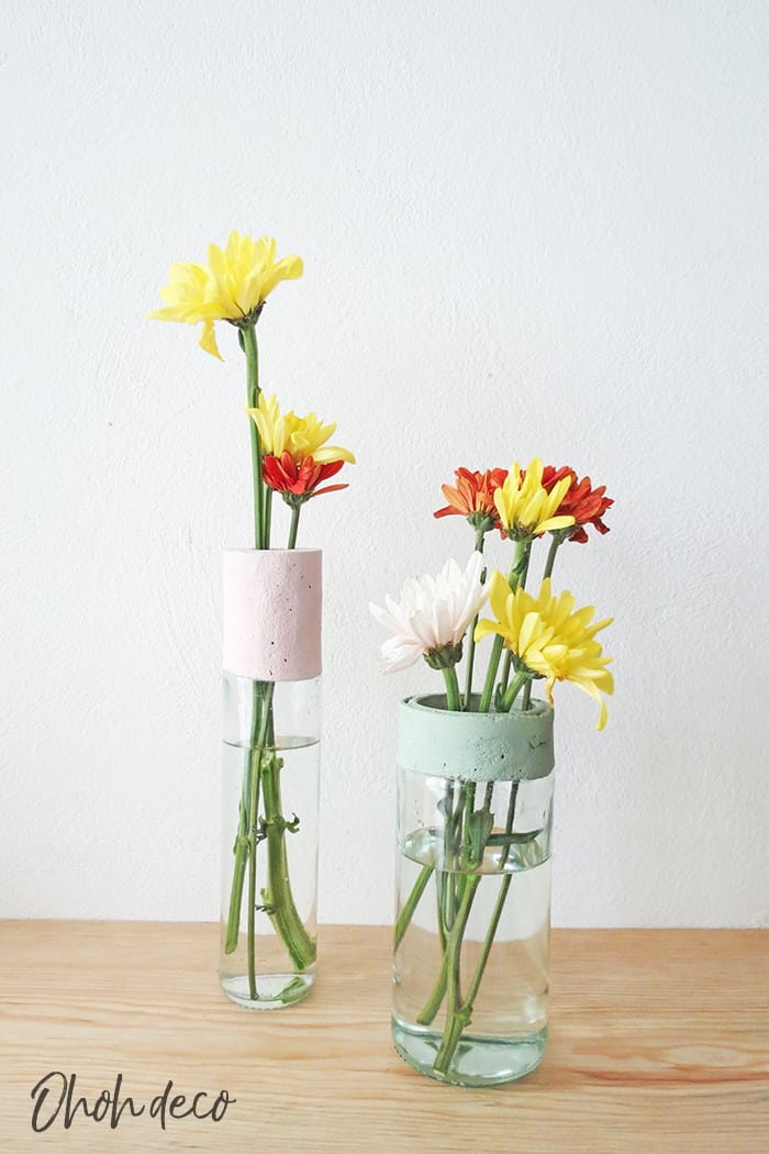 how to make a recycled flower vase