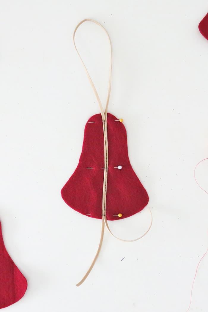 pin felt christmas ornaments