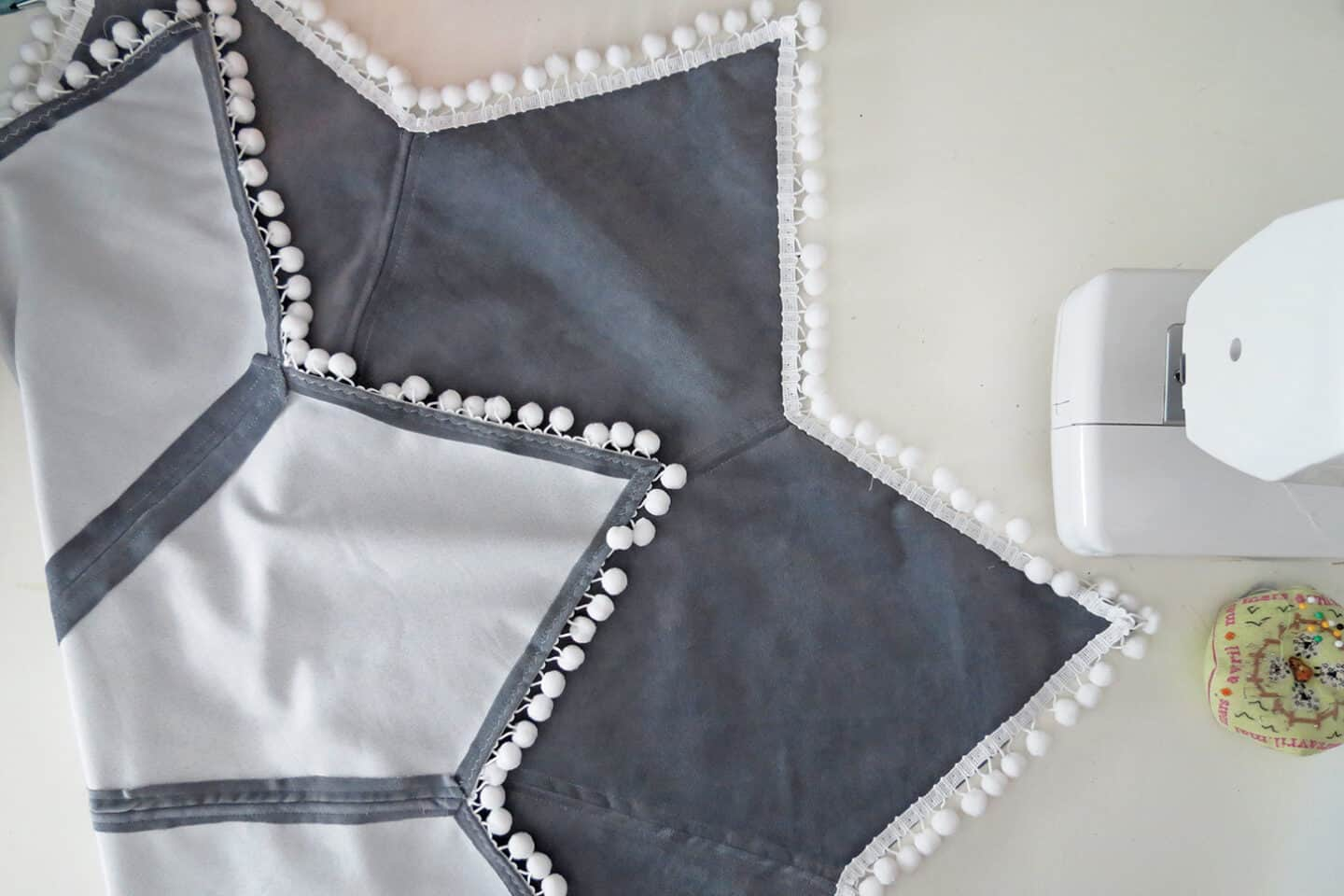 how to sew a tree skirt