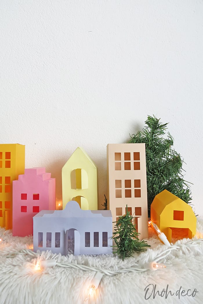 paper house printable