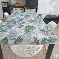 Easy to make fitted table cover