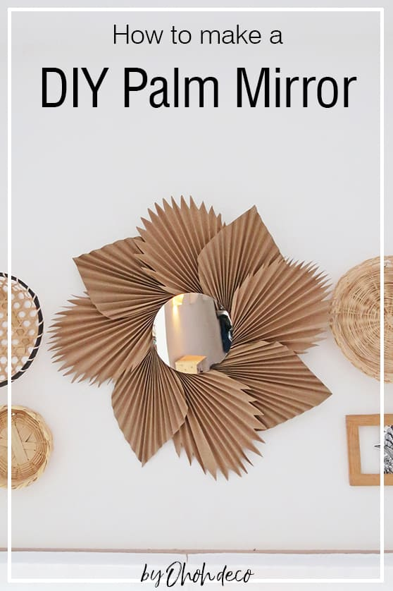 How to make a DIY mirror