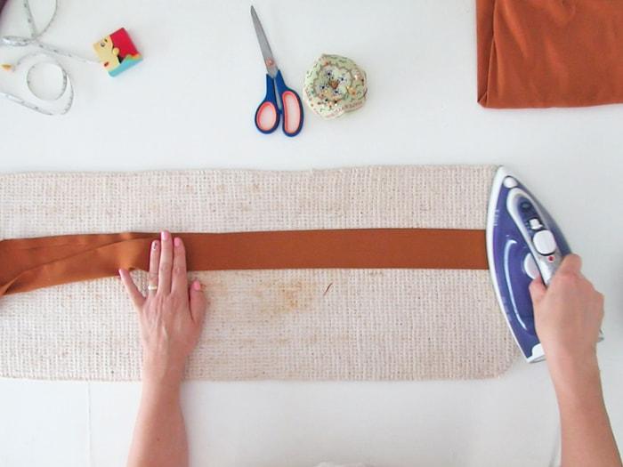 make the skirt belt
