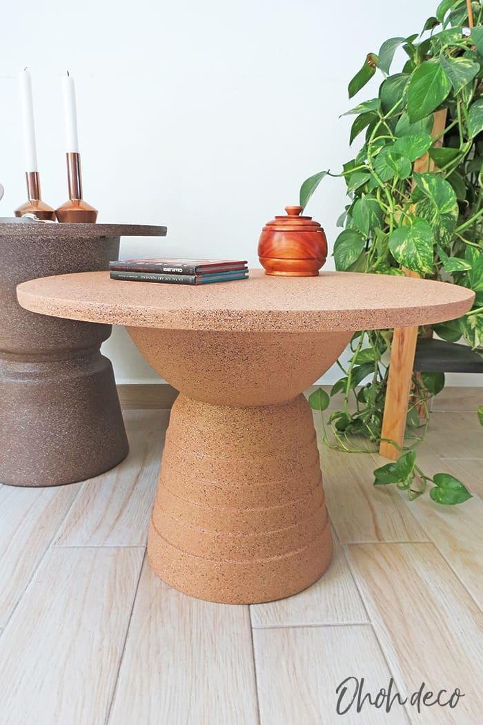 DIY totem table