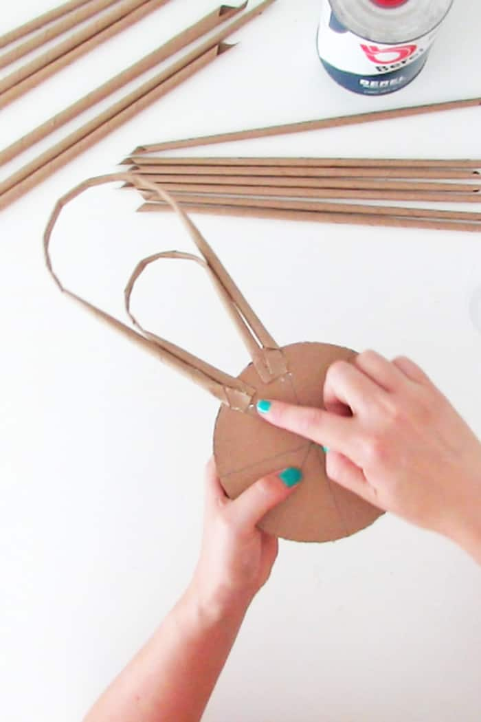 create the mirror paper frame