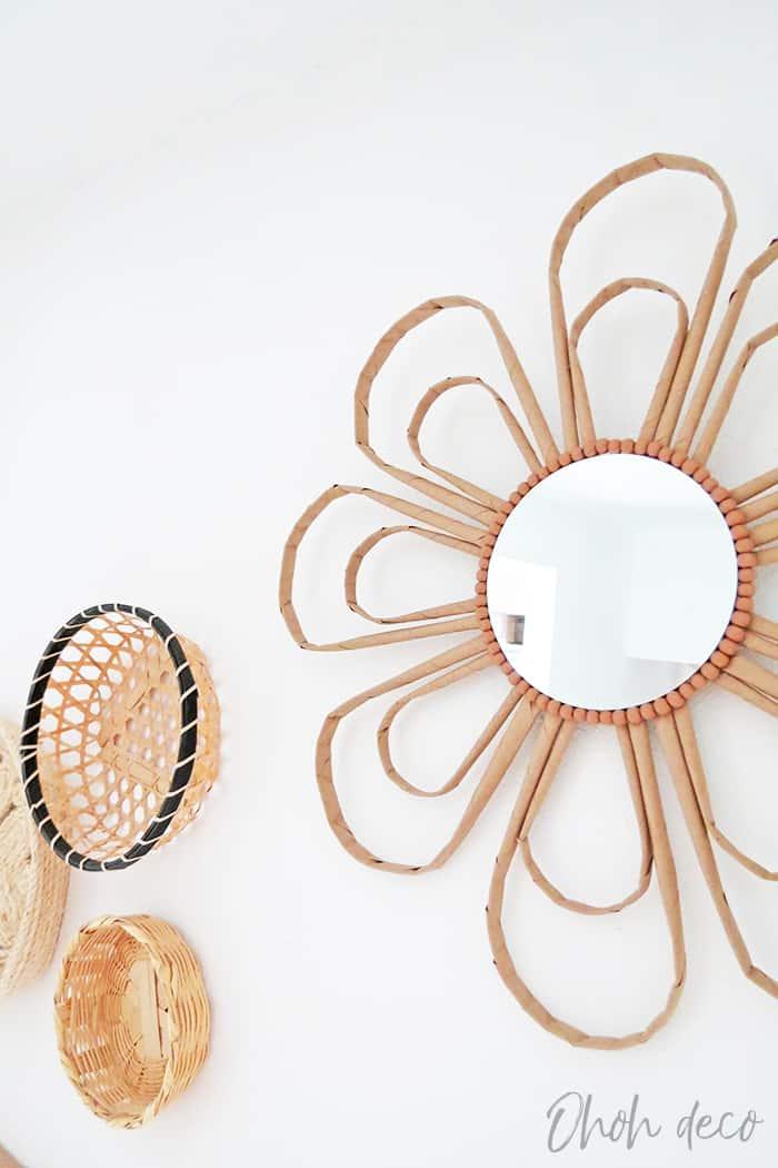 boho mirror