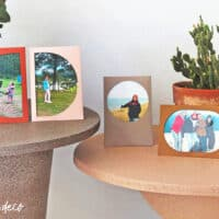 paper picture frame DIY