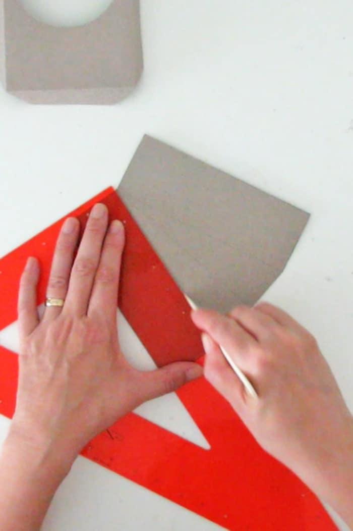 fold the diy paper frame